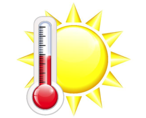 sun thermometer